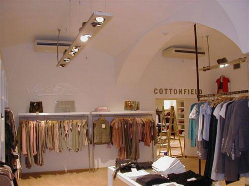 COTTONFIELD – prodejna textilu